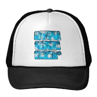 Blue stylish vintage Zombi  Design Hakuna Matata K Cap