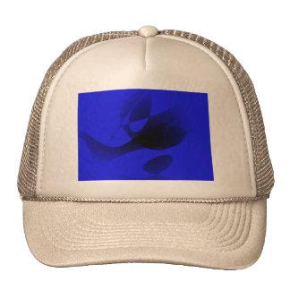 Blue Sumi-e Cap