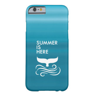 Blue Summer Barely There iPhone 6 Case