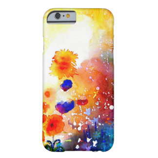 Blue Summer Garden. Barely There iPhone 6 Case