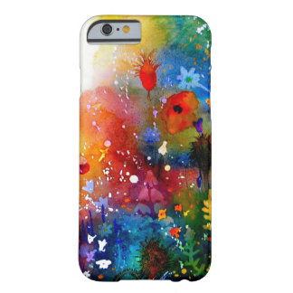 Blue Summer  Garden . Barely There iPhone 6 Case
