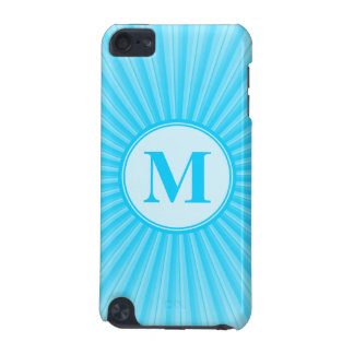 Blue Sun Monogram Customisable iPod Touch 5G Covers