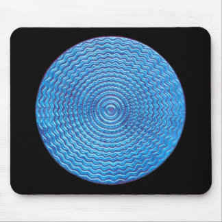 blue sun mouse pad