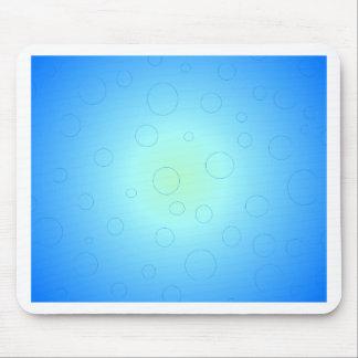 Blue Sun Sky Bubbles CricketDiane Mousepad