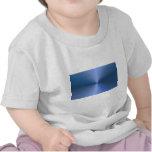 """Blue """"sunburst"""" background shirts"""