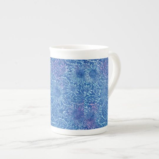 Blue Sunflower Coffee Mug