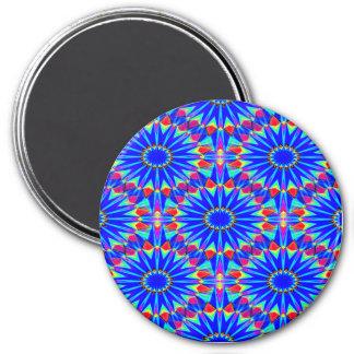 Blue Sunlight... 7.5 Cm Round Magnet