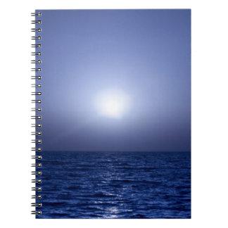 Blue sunset notebooks