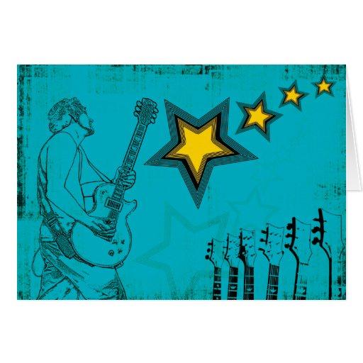 Blue Superstar Card