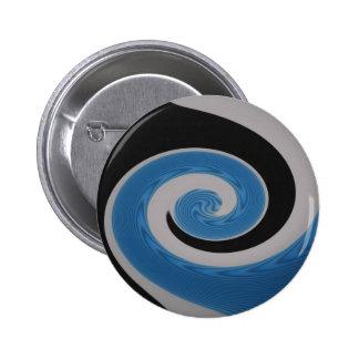 Blue Surf Four round button