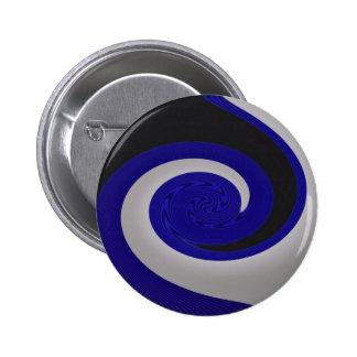 Blue Surf One round button