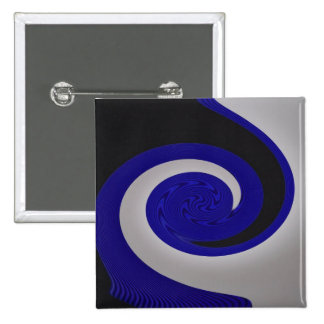 Blue Surf One square button