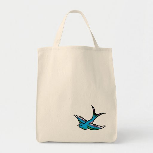 Blue Swallow Bag