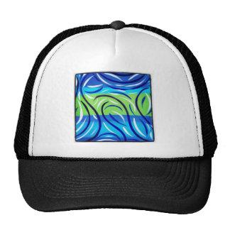 Blue Swirl Cap