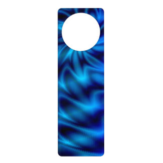Blue Swirl Door Knob Hangers