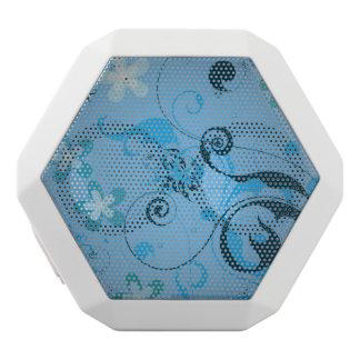 Blue Swirl Vector Boombox Rex Speaker