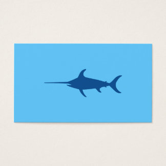 Blue Swordfish Business Card