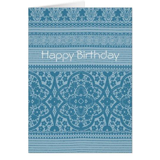 Blue Symphony Card