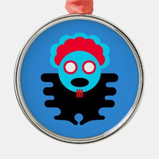 Blue T-K Bauble Christmas Ornament