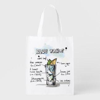 Blue Tahoe Drink Recipe Design