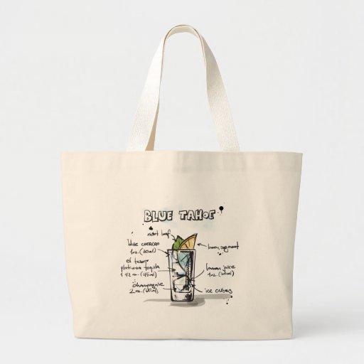 Blue Tahoe Drink Recipe Design Bags