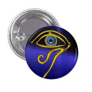 Blue Talisman 3 Cm Round Badge
