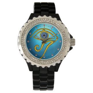 BLUE TALISMAN, Aqua Blue Wristwatch