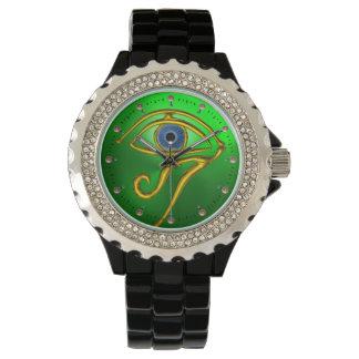 BLUE TALISMAN, Emerald Green Wrist Watches