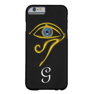 BLUE TALISMAN / HORUS EYE MONOGRAM Black Barely There iPhone 6 Case