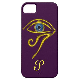 BLUE TALISMAN MONOGRAM Purple iPhone 5 Cover