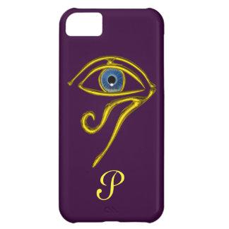 BLUE TALISMAN MONOGRAM Purple iPhone 5C Case