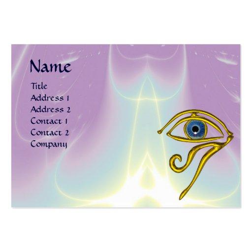 BLUE TALISMAN, purple violet white Business Cards