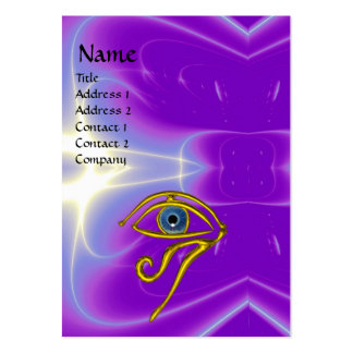BLUE TALISMAN, purple violet white pink Pack Of Chubby Business Cards