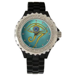 BLUE TALISMAN,Teal Aquamarine Watch