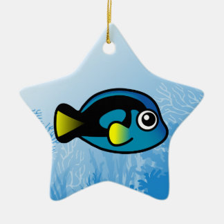 Blue Tang Ceramic Star Decoration