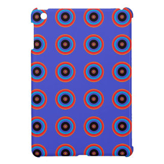 blue target circle i-pad mini case case for the iPad mini