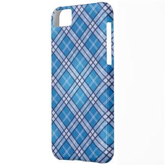 Blue Tartan iPhone 5C Case