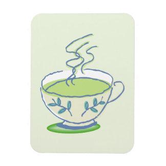 Blue Teacup Magnet