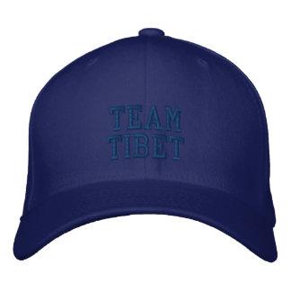 Blue Team Tibet Embroidered Wool Cap