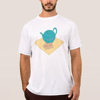 blue teapot and teabags shirt