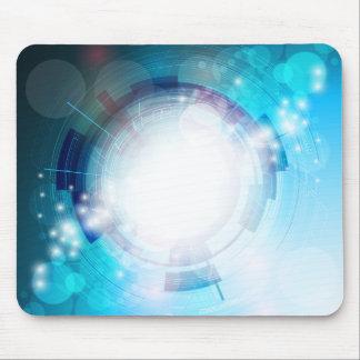 Blue Tech Design Mousepad