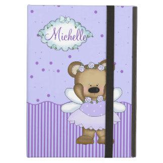 Blue Teddy Bear Fairy Princess iPad Case