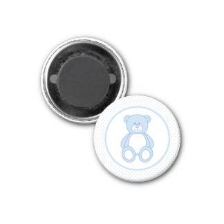 Blue Teddy Bear Magnet
