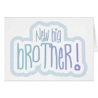 Blue Text New Big Brother Cards