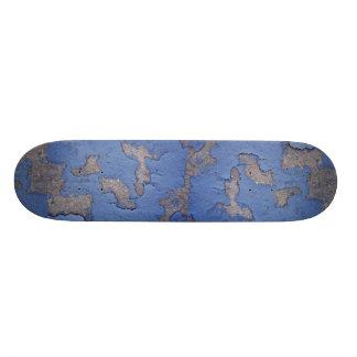 Blue Texture 20.6 Cm Skateboard Deck