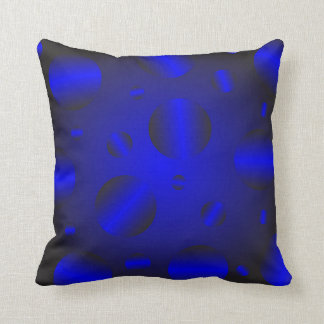 Blue texture cushion