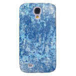 Blue Texture Galaxy S4 Cases
