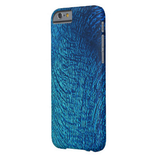 Blue Textured iPhone 6 case Barely There iPhone 6 Case