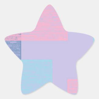 blue textured squares.jpg star sticker