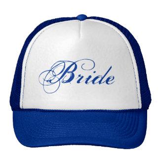 Blue theme simple Bride hat